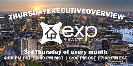 Team Truong invites you to Thursday Executive Overview tickets