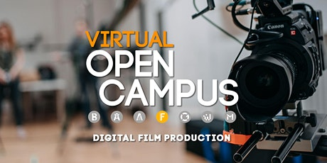 "Campus Insights - Expert Talk ""Digital Film Production"" - SAE Bochum Tickets"