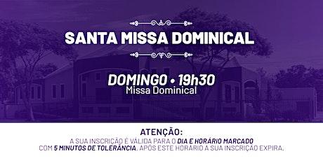 Santa Missa Dominical - Domingo | 28 de Fev. 19h30 ingressos