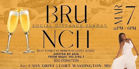 Social Distance Sunday Pop Up Brunch tickets