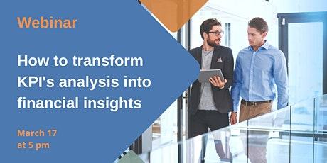 How to transform KPI's analysis into financial insights tickets