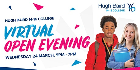 14-16 College Virtual Open Evening tickets