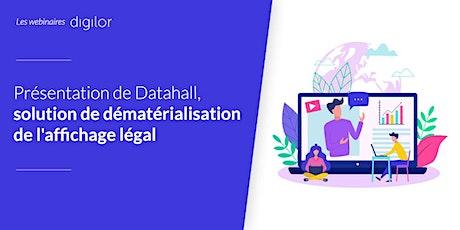 Présentation de Datahall : dématérialisation de l'affichage légal billets