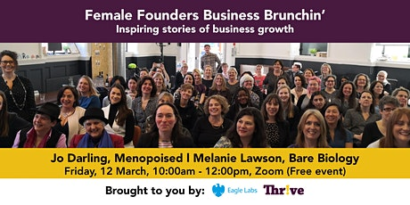 Female Founders Business Brunchin' tickets