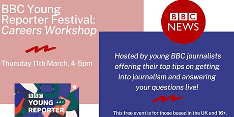 BBC Young Reporter Festival - Careers Workshop tickets