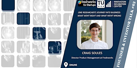 i²c F&I Talk #62: Craig Soules (Director Product Management @freshworks) tickets