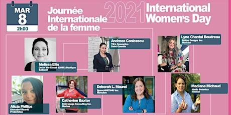2021  Journée Internationale de la Femme - Table ronde tickets
