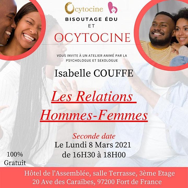 Image pour LES RELATIONS HOMMES - FEMMES 2