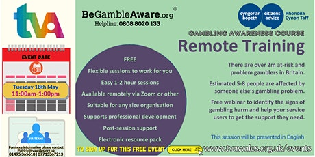 Gambling Harm Awareness Online Course tickets