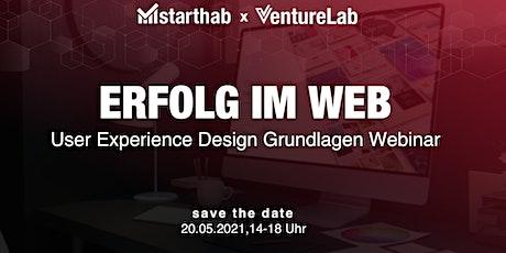 User Experience Design Grundlagen Webinar Tickets