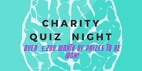 Charity Quiz  Night tickets