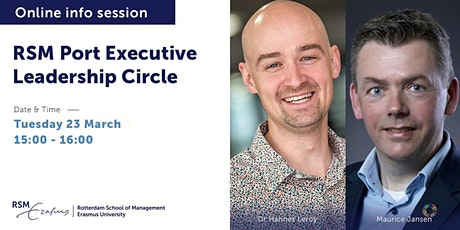 Online information session Port Executive Leadership Circle - 23 March 2021 tickets