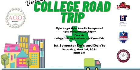 Alpha Omega Omega Chapter Presents:Virtual College Road Trip Part II tickets