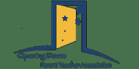 Opening Doors PTA meeting tickets