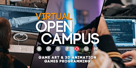 "Campus Insights - Workshop ""Game Art & Games Programming"" - SAE Bochum tickets"