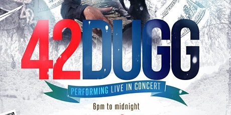 42 Dugg Performing Live in Concert tickets