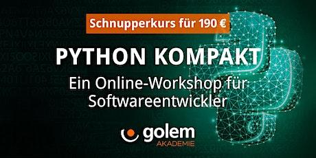 Schnupperkurs: Python für Softwareentwickler Tickets