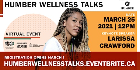 Humber Wellness Talks  - Centering Health and Sustainability tickets