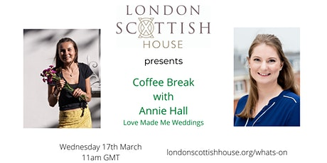 LSH Coffee Break - Planning your London Wedding with Love Made Me Weddings tickets
