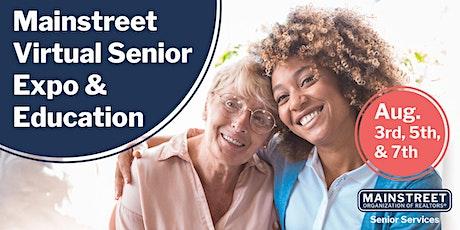 Mainstreet Virtual Senior Expo & Education billets