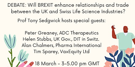 #CoffeeBuddies in association with Swiss Biotech Assoc - a Brexit Debate tickets
