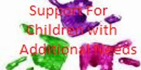 Additional Needs Session tickets