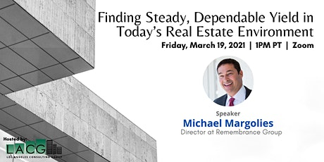 Finding Steady, Dependable Yield in Today's Real Estate Environment billets