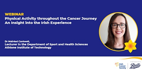Webinar: Physical Activity throughout the Cancer Journey tickets