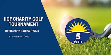 IICF Charity Golf Tournament 2021 tickets