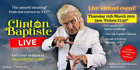 Clinton Baptiste Live 11th March 2021 tickets