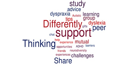 Thinking Differently Peer Support group meeting March tickets
