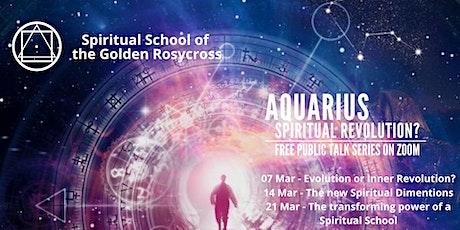 Public Talk Series - Aquarius: Spiritual Revolution? tickets