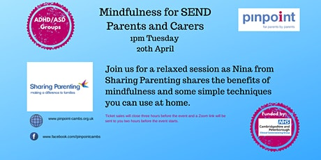 Mindfulness for SEND Parents and Carers tickets