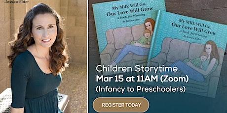 Children Storytime with Author Jessica Elder (Infants to Preschoolers) tickets