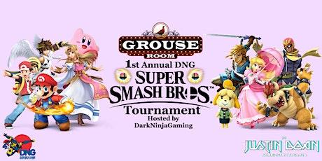 Dark Ninja Gaming presents 1st Annual Super Smash Brothers Tournament tickets