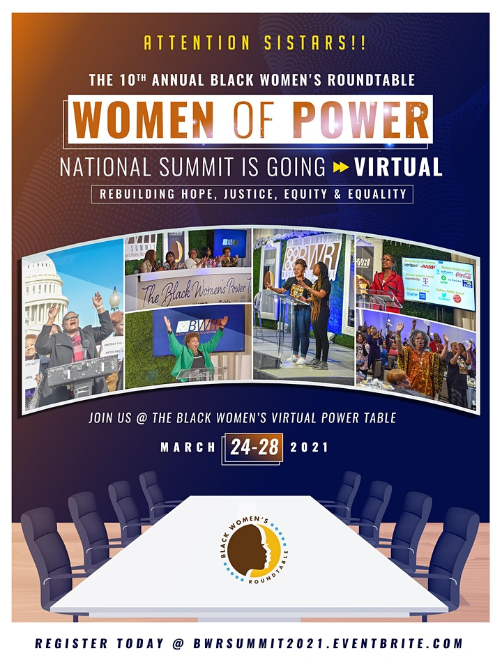 """10th Annual Black Women's Roundtable  """"Women of Power"""" National Summit image"""