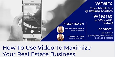 How to Maximize Your Business Through Video tickets