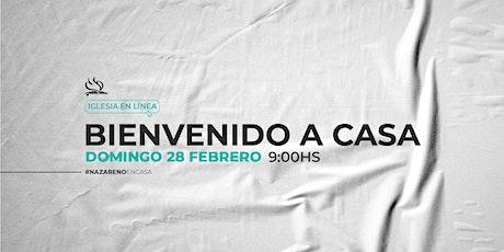 CULTO PRESENCIAL 28 DE FEBRERO boletos