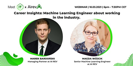 Career Insights: Machine Learning Engineer about working in the industry tickets