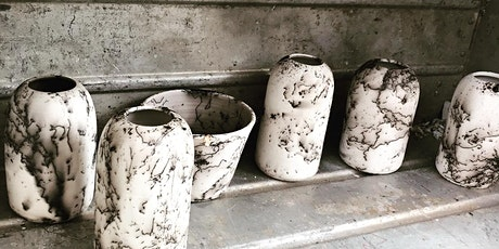 Horse hair and obvara firing pottery workshop tickets