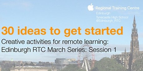 Creative activities for remote learning – 30 ideas to get started tickets