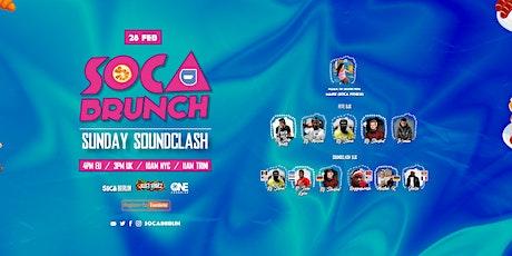 Sunday Soundclash x Sunday Brunch! Sunday 28th Feb 2021 tickets