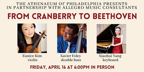 Allegro Presents: From Cranberry to Beethoven In Person Performance tickets