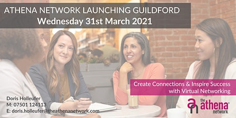 The Athena Network: Guildford Group Launch. Guest speaker Naomi Riches  MBE tickets
