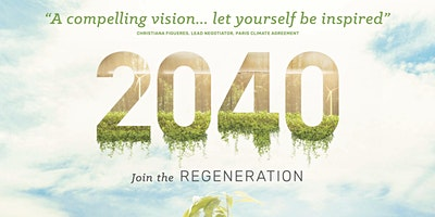 2040 is a hybrid feature documentary that looks to the future