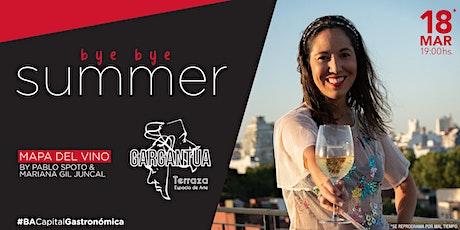 Mapa del vino bye bye summer entradas