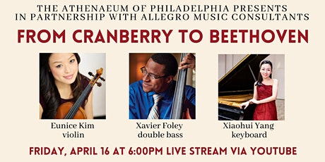 Allegro Presents: From Cranberry to Beethoven Live Stream tickets
