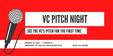 VC Pitch Night tickets