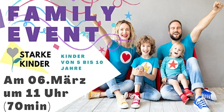Family Event |Resilienz  Training Kinder  |  5-10 Jahren Tickets