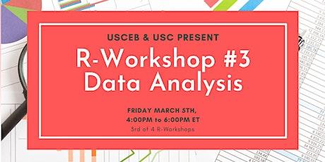 R Workshop: DATA ANALYSIS billets